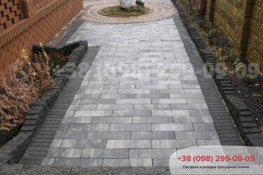 Тротуарная плитка колор-миксфото 355