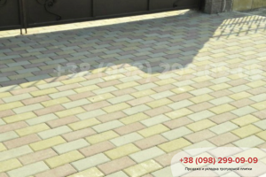Тротуарная плитка ТМ «Золотой Мандарин»