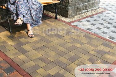 Тротуарная плитка колор-миксфото 189