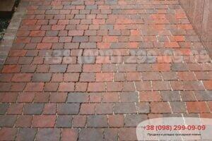 Тротуарная плитка «Шашка»