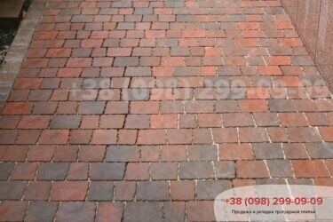 Тротуарная плитка колор-миксфото 138
