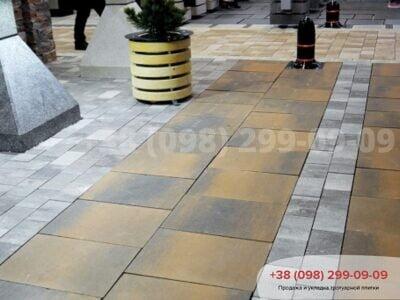 Тротуарная плитка Монолит Левантофото 1