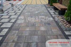 Тротуарная плитка Неолит Грейс