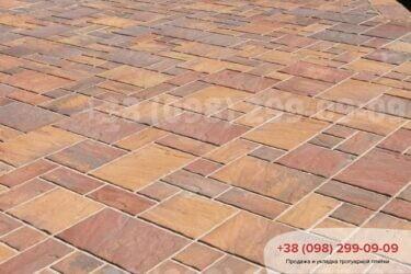 Тротуарная плитка колор-миксфото 206