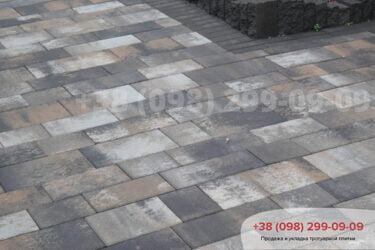 Тротуарная плитка колор-миксфото 26