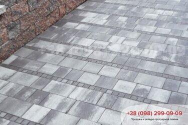 Тротуарная плитка колор-миксфото 289