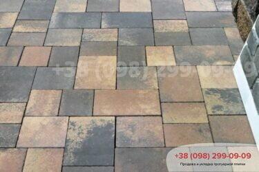 Тротуарная плитка колор-миксфото 286