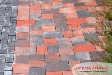 Тротуарная плитка колор-миксфото 272
