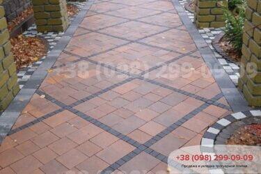 Тротуарная плитка колор-миксфото 274