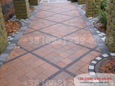 Тротуарная плитка Плац Сиенафото 10
