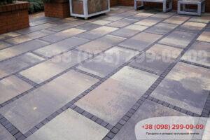 Тротуарная плитка Плита 900х450 Тоскана