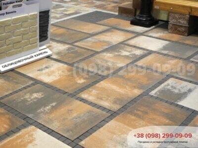 Тротуарная плитка Плита 900х450 Тосканафото 1