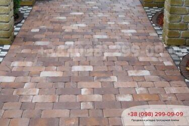 Тротуарная плитка колор-миксфото 324