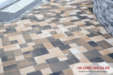 Тротуарная плитка колор-миксфото 103