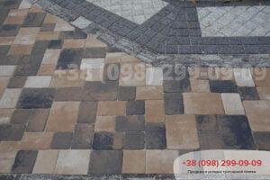 Тротуарная плитка Венеция Росано