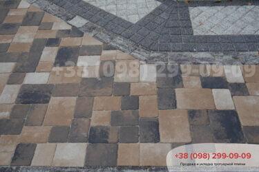 Тротуарная плитка колор-миксфото 110