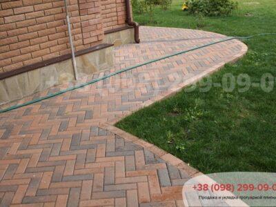 Тротуарная плитка Кирпич узкий Латинафото 9