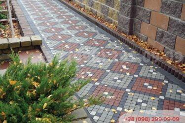 Дорожки из тротуарной плиткифото 34