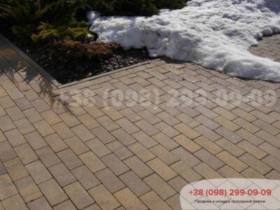 Тротуарная плитка Кирпич без фаски Генуяфото 4