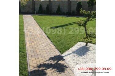 Тротуарная плитка колор-миксфото 187