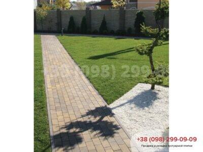 Тротуарная плитка Кирпич без фаски Генуяфото 5
