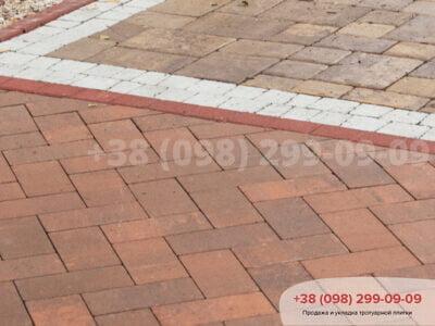 Тротуарная плитка Кирпич без фаски Сиенафото 4