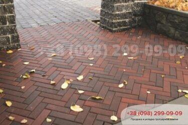Тротуарная плитка колор-миксфото 338