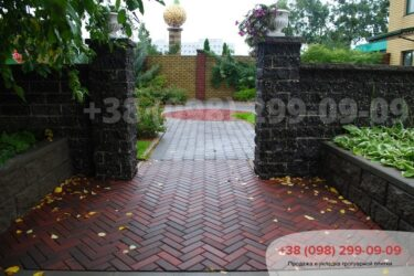 Тротуарная плитка колор-миксфото 337