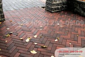 Тротуарная плитка Кирпич узкий Болонья