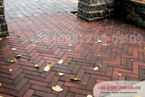 Тротуарная плитка Кирпич узкий Латина