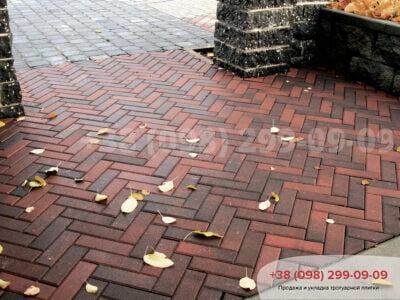Тротуарная плитка Кирпич узкий Болоньяфото 2