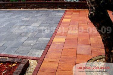 Тротуарная плитка колор-миксфото 158