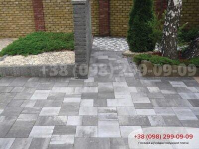 Тротуарная плитка Модерн М Грейсфото 4