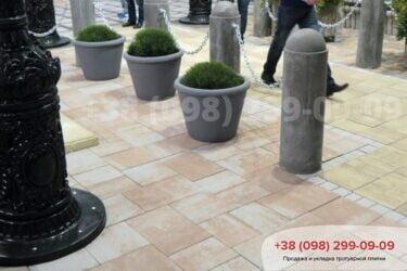 Тротуарная плитка колор-миксфото 169