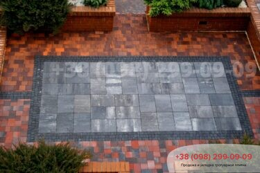 Тротуарная плитка колор-миксфото 175