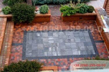 Тротуарная плитка колор-миксфото 174