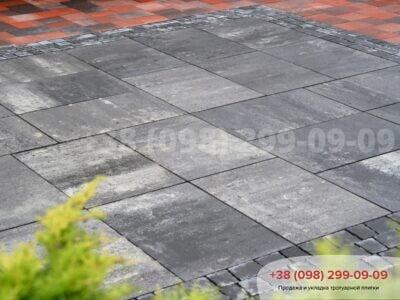 Тротуарная плитка Монолит Грейсфото 2