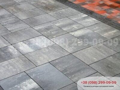 Тротуарная плитка Монолит Грейсфото 6