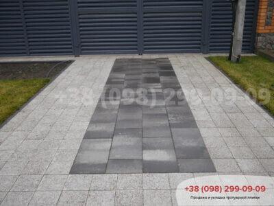 Тротуарная плитка Неолит Грейсфото 9