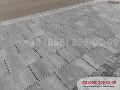 Тротуарная плитка Неолит Грейсфото 10