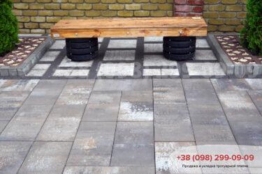 Тротуарная плитка колор-миксфото 13