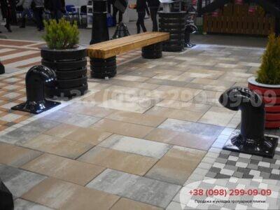 Тротуарная плитка Неолит Тринофото 5