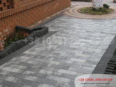 Тротуарная плитка Паркет Грейсфото 3