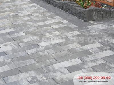 Тротуарная плитка Паркет Грейсфото 6