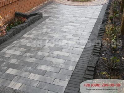 Тротуарная плитка Паркет Грейсфото 8