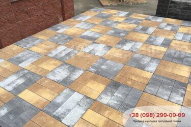 Тротуарная плитка колор-миксфото 227
