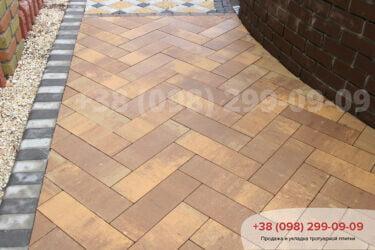 Тротуарная плитка колор-миксфото 236