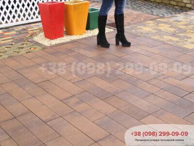 Тротуарная плитка Паркет Савонафото 1