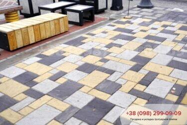 Тротуарная плитка колор-миксфото 198