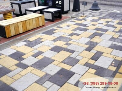 Тротуарная плитка Пассион Черныйфото 3